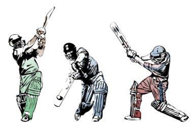 Cricket Batting Three